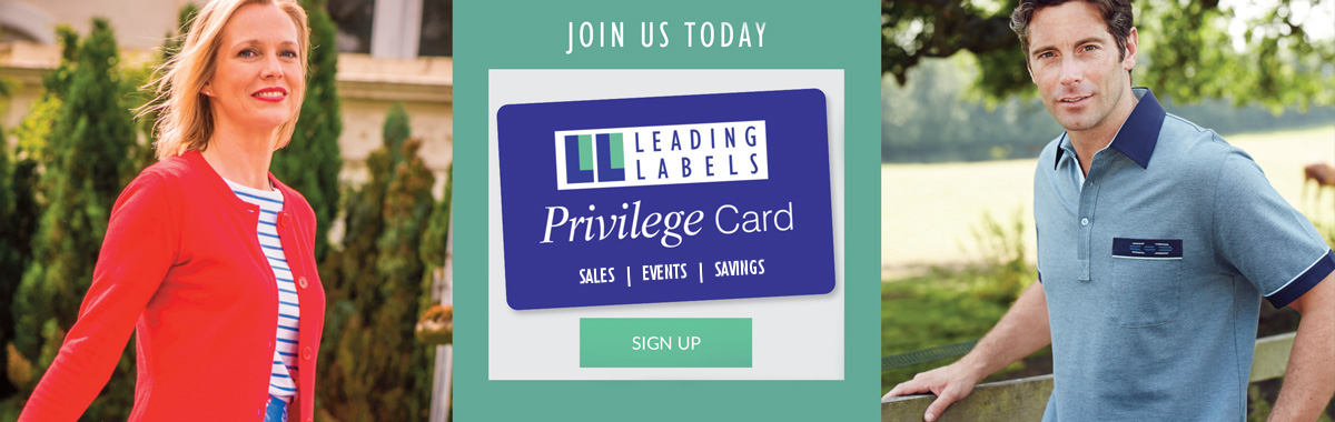 leading labels privilege card banner