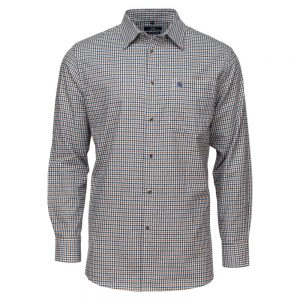 Carson Mens 'Gun Club' Check Soft Cotton Long Sleeve Shirt