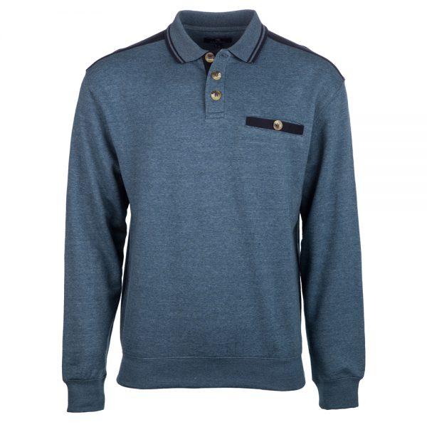 Carson polo neck Sweatshirt