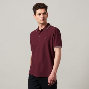 Farah Gyp Honeycomb Polo